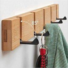 Briday - Foldable Natural Wooden Coat Hangers,