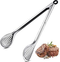 Briday - Fry Tongs 12 Inch Stainless Steel Wide