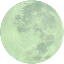 Briday - Full Moon Wall Stickers Glow in The Dark