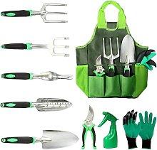 Briday - Gardening Tools, 10 Pack Gardening Kit,