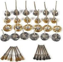 Briday - Garosa 36Pcs Polishing Brass Brush Set