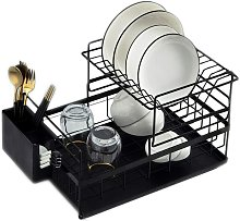 Briday - Kitchen Dish Drainer Detachable 2 Tier