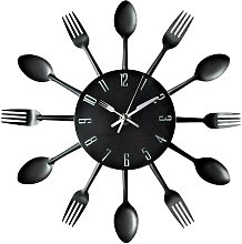 Briday - Kitchen Wall Clock, 3D Removable Modern