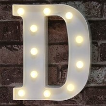 Briday - LED Marquee Letter Lights Sign, Light Up