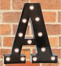 Briday - Light Up LED Letter Marquee Sign -