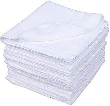 Briday - Microfiber Cleaning Cloth in White Color