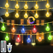 Briday - Outdoor String Lights, 49FT Christmas