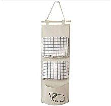 Briday - Over Door Storage Bag // Cotton Hanging
