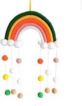 Briday - Rainbow Macrame Wall decoration for