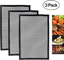 Briday - Reusable BBQ Grill Mat, Non-stick BBQ or