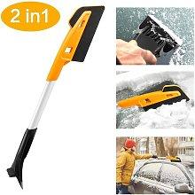 Briday - Snow Pusher, Snow Brush Snow Shovel,