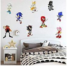 Briday - Sonic Game Sticker Children's Cartoon