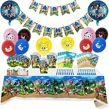 Briday - Sonic The Hedgehog Party Supplies