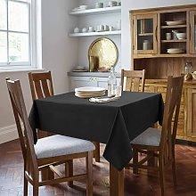 Briday - Square Tablecloth - 54 x 54 Inch - Black