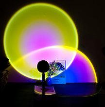 Briday - Sun Projection Lamp, LED Floodlight, LED