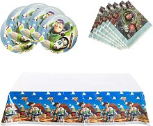 Briday - Toy Story Party Supplies, 18 plates, 20