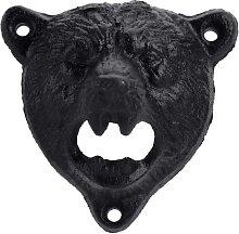 Briday - Wall Mounted Cast Iron Bear Head