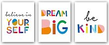 Briday - Watercolor Words Inspirational Quote