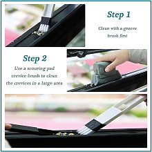 Briday - Window Groove Cleaning Brush Kitchen