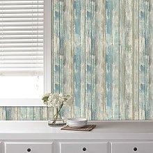 Briday - Wood Wallpaper Rustic Distressed Wood