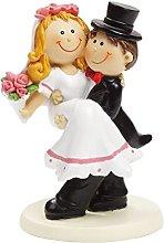 Bride Bridal Couple VII Cake Decoration Cake Topper