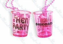 Bridesmaid Shot Glass Hen Night Accessories, Hen