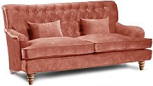 Brieaddy 2 Seater Chesterfield Sofa Rosalind