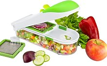 Brieftons QuickPush Food Chopper: Onion Chopper,