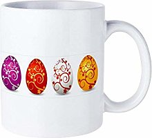 Bright Colorful Easter Egg Funny Gifts Coffee Mug