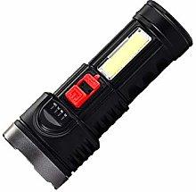 Bright LED Flashlight,USB Charging Torch Portable