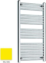 Bright Yellow 1000mm x 500mm Straight 22mm Towel