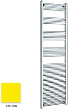 Bright Yellow 1800mm x 600mm Straight 22mm Towel