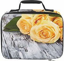 Bright Yellow Rose Banquet Beach Cooler Bags