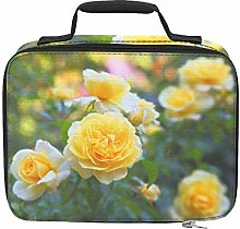 Bright Yellow Rose Banquet Insulated Cooler Bag