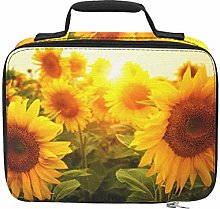 Brightly Colored Yellow Sunflower Camping Coolers