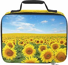 Brightly Colored Yellow Sunflower Cooler Bags