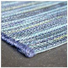 Brighton Blue/Yellow 60x200cm Large Rug Carpet