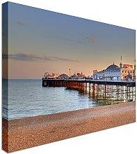 Brighton Pier UK 12x16 inches   Canvas Art Cheap