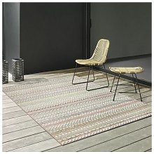 Brighton Red/Beige 120x170cm Large Rug Carpet Rugs