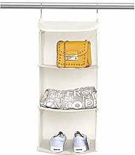BrilliantJo Hanging Storage with 3 Shelves