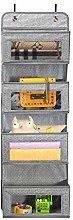 BrilliantJo Over The Door Storage, 4 Pockets Soft
