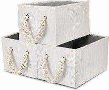 BrilliantJo Set of 3 Foldable Storage Boxes with