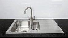 Bristan Index Kitchen Sink 1.5 Bowl & Monza