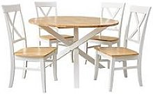 Bristol Dining Table & 4 Chairs Set