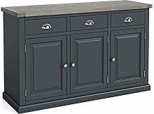 Bristol Grey Large Sideboard Storage Cabinet with