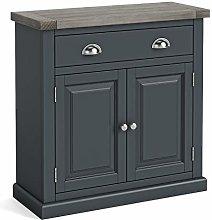 Bristol Grey Mini Sideboard Storage Cabinet with