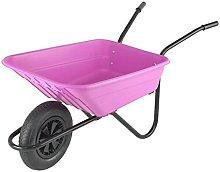 Bristol Mucker Garden Wheelbarrow Colour: Pink