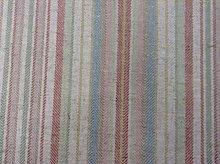 Bristol Soft Pink Stripe Linen Cotton Designer