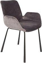 Brit armchair dark grey