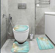 Britimes Bathroom Rug Set of 3, 3 Pieces Bath Mats